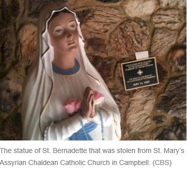 jesus statue stolen radio freedom news