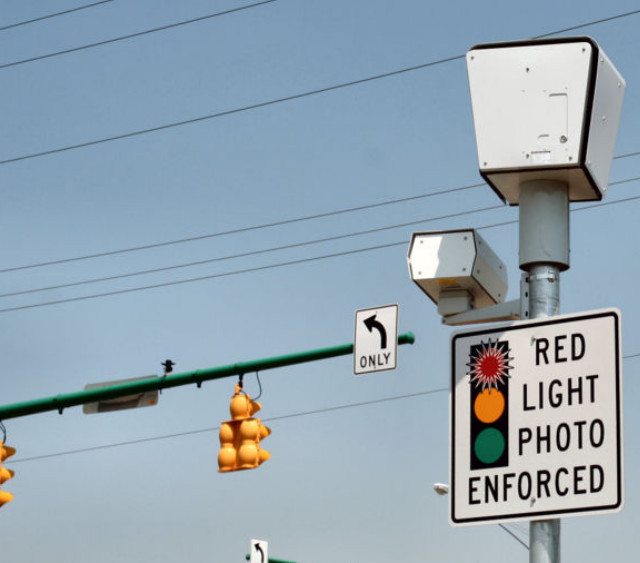 radio freedom news Red Light Cameras in City Now Over 100