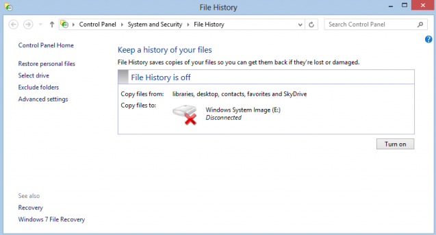 windows 8 hidden backup radio freedom news