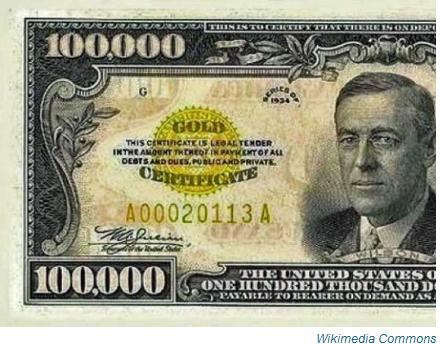 100000 bill