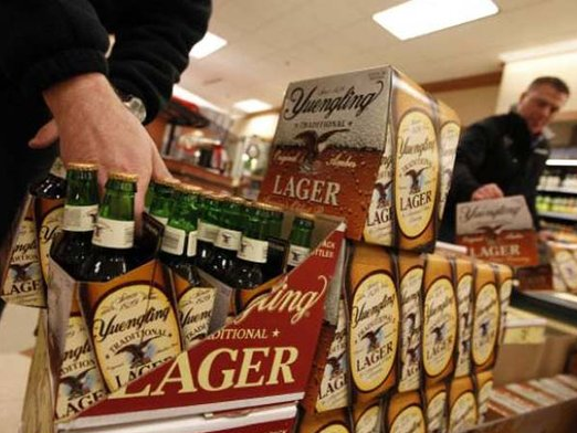 City says Yuengling owes $6.6 million in taxes