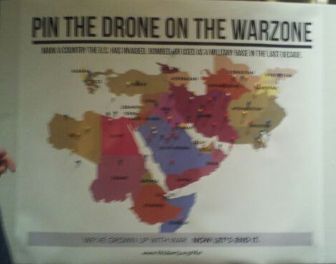 pin the drone