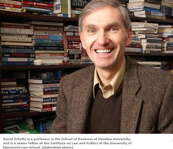 David Schultz is Hamline University Professor