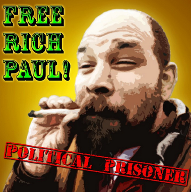 free rich paul areested for weed