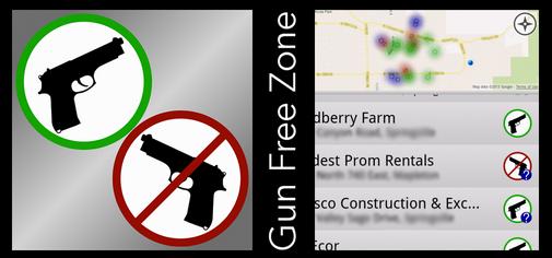 gun free zone app