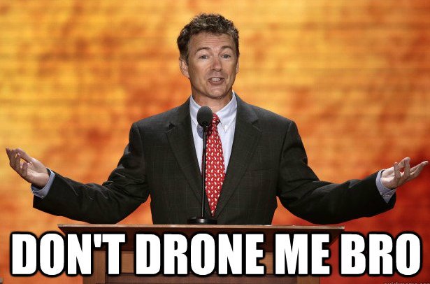 rand paul drone meme