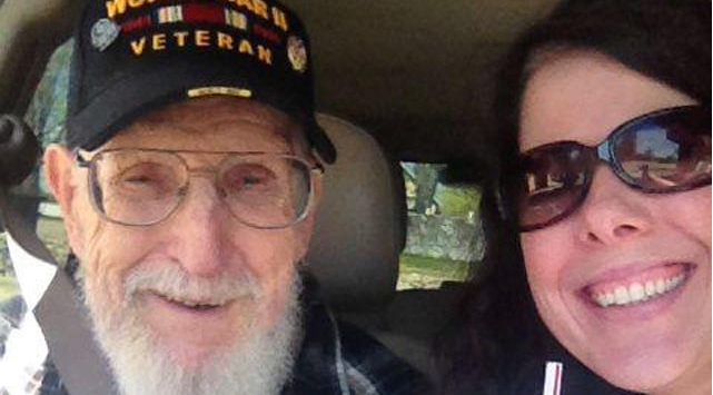 91 year old war Vet, being evicted by daughter from home he built after she used POA to take the