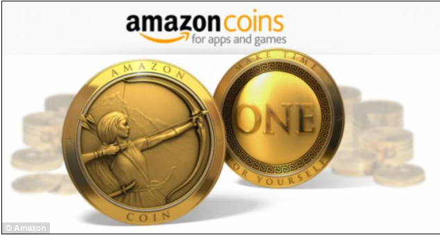 Amazon launches its own virtual currency