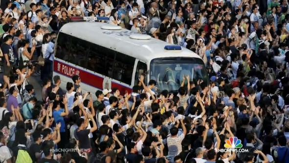 hong kong protesters china